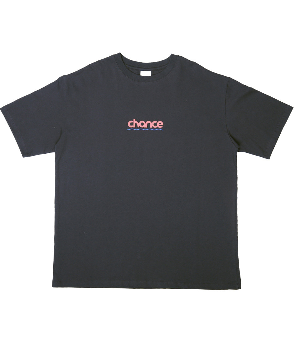CHANCE WAVE T-SHIRT(CHARCOAL)