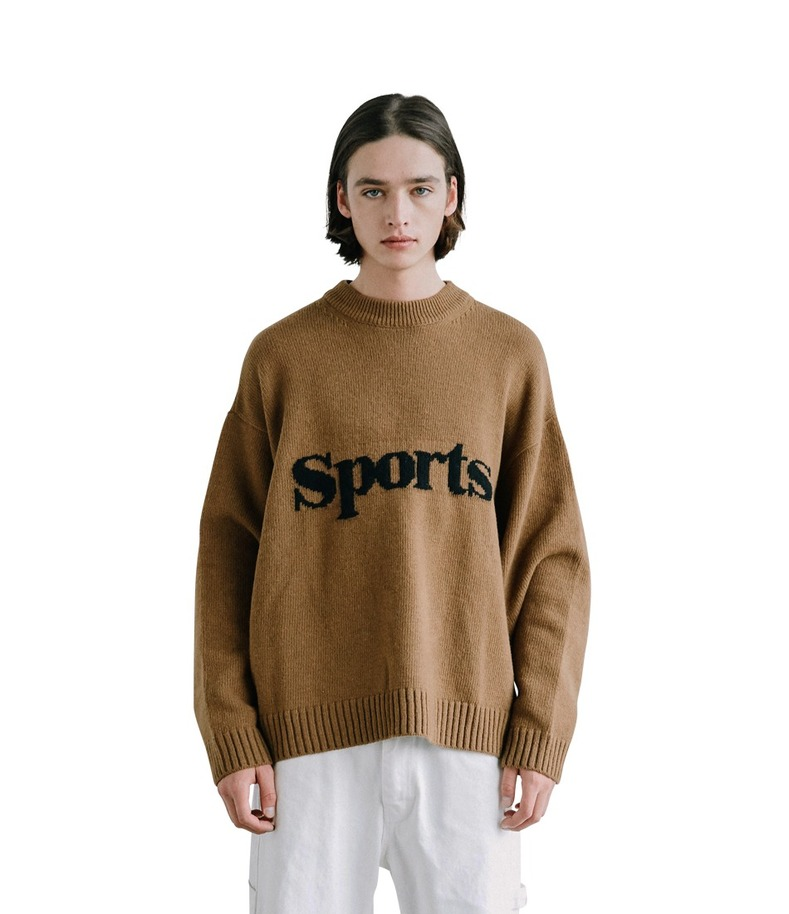 Sports Knit(Brown)