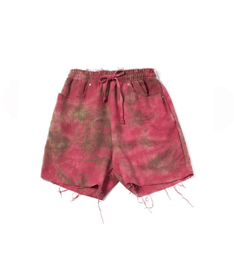 RAW SHORTS(RED)