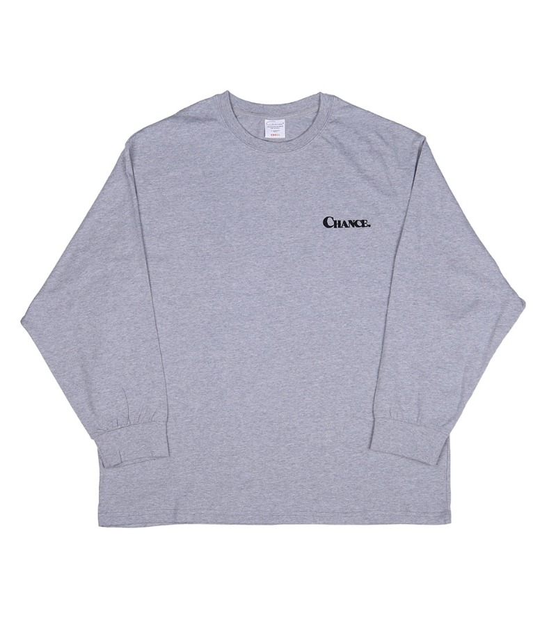 CHANCE LONGSLEEVE T-SHIRT(GRAY)