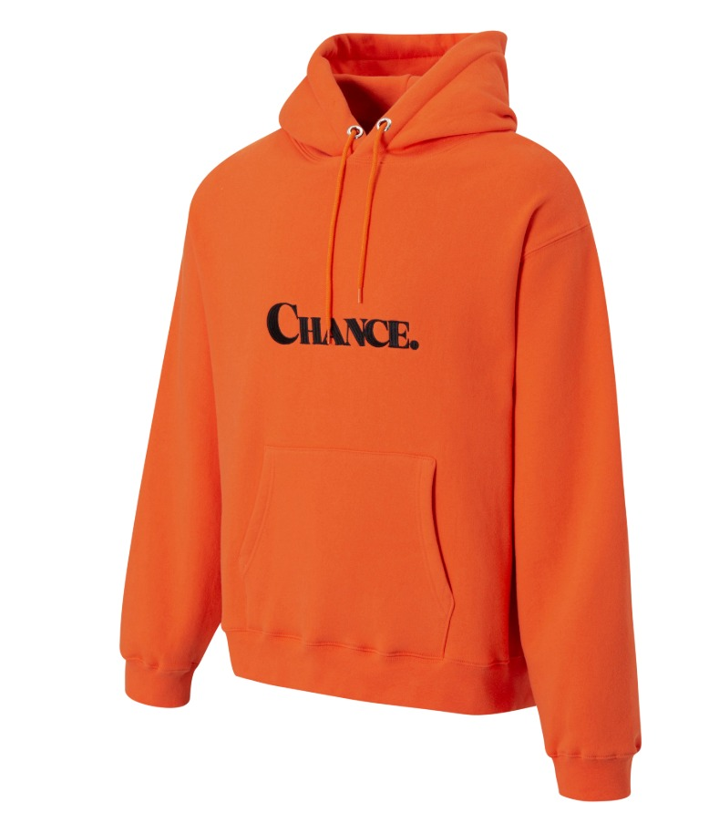 CHANCE HOODIE(ORANGE/기모)